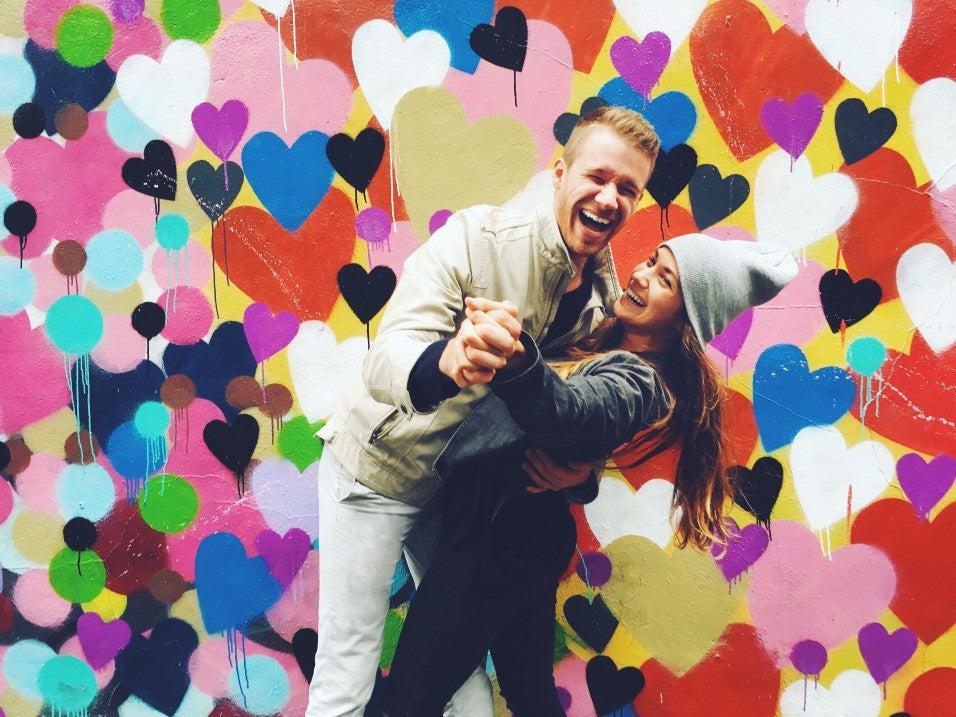 love couple hearts