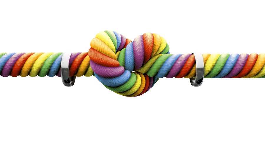 Tying the Rainbow Knot - Attending Your First Gay Wedding